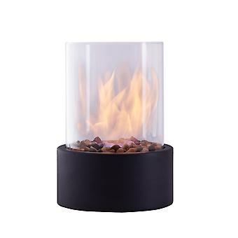 Danya B. Indoor / Outdoor Portable Tabletop Fire Pit Clean-Burning Bio Ethanol Ventless Fireplace - Petite
