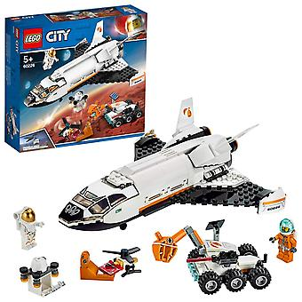 Lego 60226 city mars research shuttle spaceship construction toys for kids inspired by NASA with rov