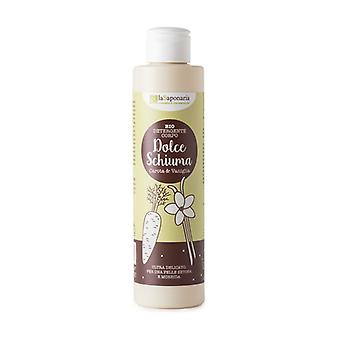 Vanilla and Carrot body cleanser - Dolce Foam 200 ml