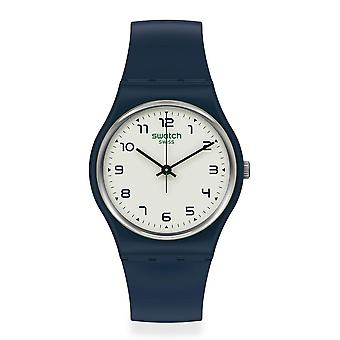 Swatch SO28N101 Sigan Navy Blue Bio-Sourced Material Watch