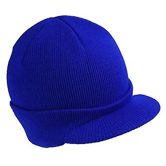 Men Women Winter Knit Baggy Beanie Oversize Fashion Hat Visor Cap