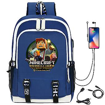 Minecraft youth School Backpack