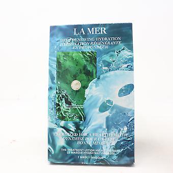 La Mer La Mascarilla Hidratante de Loción de Tratamiento (1 Máscara) / Nuevo Con Caja