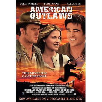 American Outlaws elokuvan juliste tulosta (27 x 40)