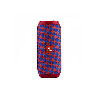 CoolBox COOLTUBE 10W 1200 mAh FM red blue bluetooth speakers