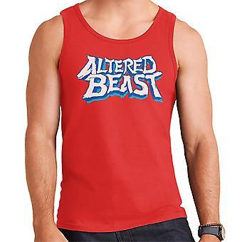 Sega Altered Beast Logo Men's Vest