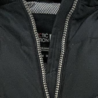 Arctic Expedition Women's Chevron Quilted Down Coat Black A369052