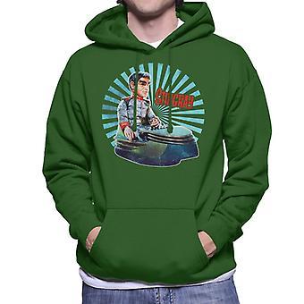 Stingray Commander Sam Shore In Hoverchair Men's Hooded Sweatshirt