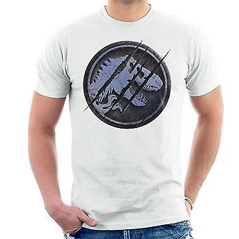 Jurassic Park Claw Marks Ikoninen Logo Men's T-paita