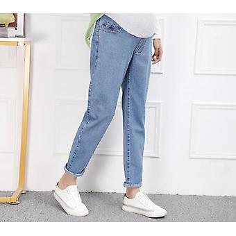 Maternity Harem Dad Jeans, Loose Pants For Pregnant Women, High Waist Belly