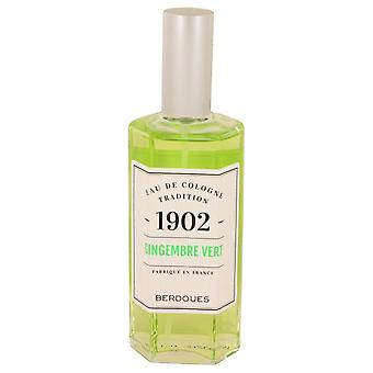 1902 Gingembre Vert Eau De Cologne Spray (unboxed) By Berdoues 4.2 oz Eau De Cologne Spray