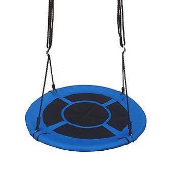Saucer Tree Swing, Children Swing Platform Bonus Carabiner For Hanging Rope Outdoor