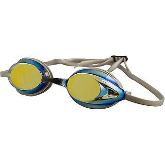 MARU pulssi peili huurtumaton uima suojalasit - hopea/sininen/kulta