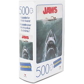 Blockbuster puzzle jaws
