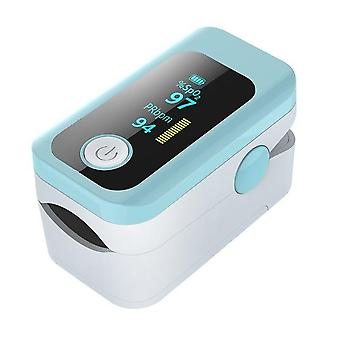 Blood measuring instrument led screen oximeter fingertip detection pulse heart rate oximeter three color screen oximeter