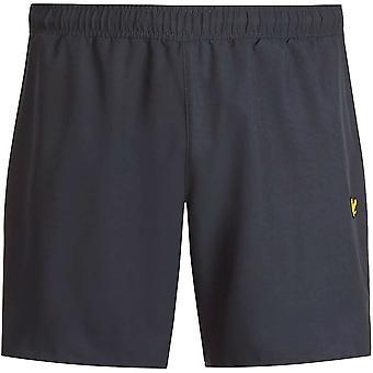 """Lyle & Scott Mens Training 7"""" Lichtgewicht ademende shorts"""