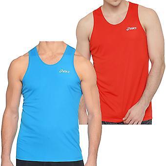 asics Essentials Mens Sleeveless Running Gym Sports Singlet Vest Top