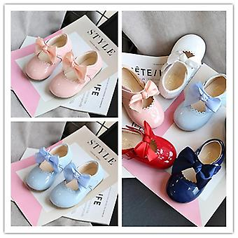 Children's Candy Color, Baby Shoes, Soft Bottom, Spring Smooth Leather,