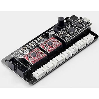 Eleksmaker®eleksmanase V3.2 2 Axis Stepper Motor Driver Controller Board