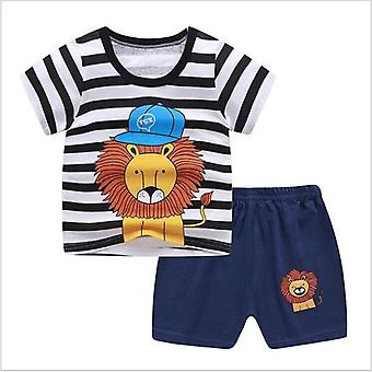 Baby Clothing Summer Cotton T-shirt + Pants