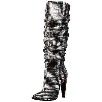 Steve Madden para mujer machaca encorvarse señaló del dedo del pie hasta la rodilla Botas de moda