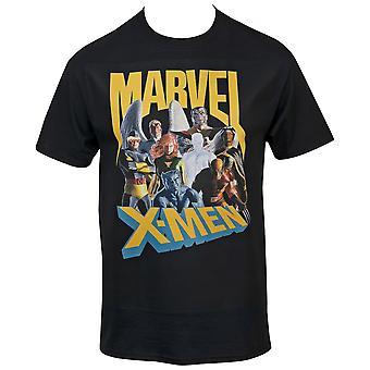 Marvel X-Men Characters Lineup T-paita