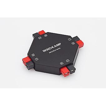 Διαχωριστής 4-ch ραδιόφωνο ham διανομέων παροχής ηλεκτρικού ρεύματος