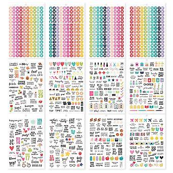 Enkle historier - A5 Sticker Tablet - Kalender