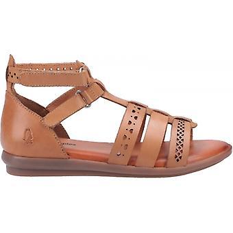 Hush Pennut Nicola Ladies nahkahihna sandaalit ruskea
