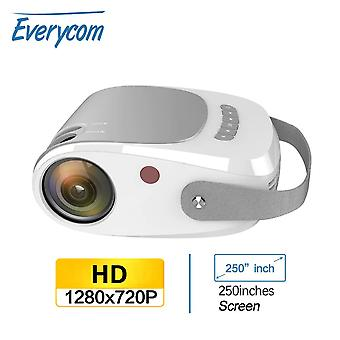 HD Projector 1280x720p LED Video  Portable Beamer