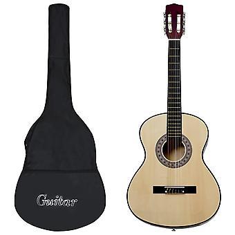 """vidaXL klassinen kitara aloittelijoille laukulla 4/4 39"""""""