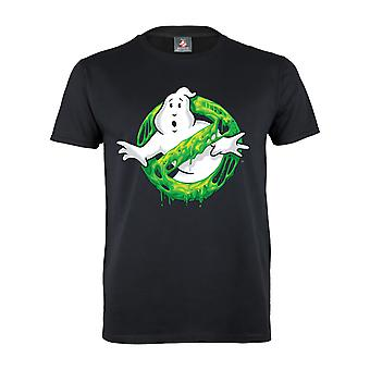 Ghostbusters Womens/Ladies Slime Logo Boyfriend T-Shirt
