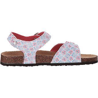 Joules Girls 'JNRTIPPYTOES Sandal, Cream Summer Mosaic, 9C Medium US Infant