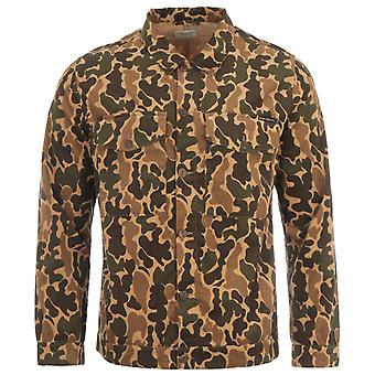 Nudie Jeans Co Colin Corduroy Overshirt - Camouflage