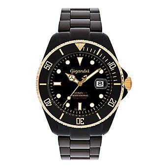 Gigandet G2 - 014 - Men's watch, black stainless steel strap