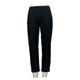 Kvinder med kontrol Regelmæssig Mave Control Crop Jeans Indigo XXSmall
