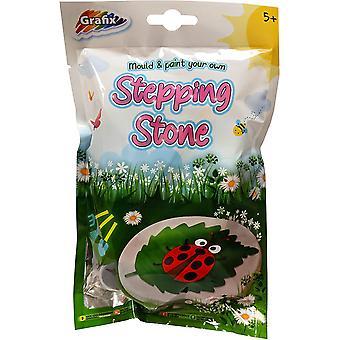 Grafix Make & Paint Your Own Mini Stepping Stone
