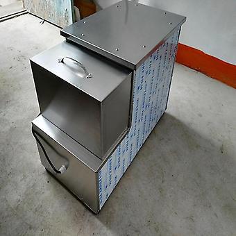 Máquina de barril de pizza, horno de acero inoxidable con 4 barras de calefacción, ajustar