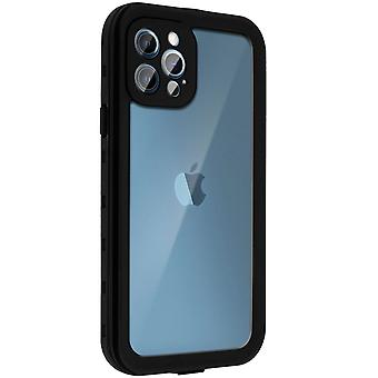 Protective Case for Apple iPhone 12 Pro Waterproof Screen protector black