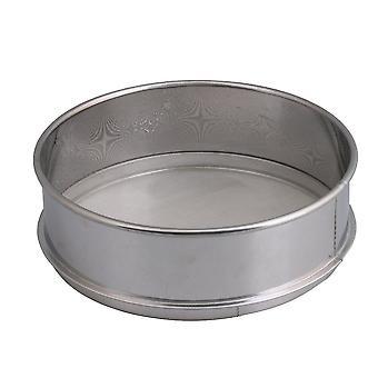 Para harina de acero inoxidable malla fina redondo 20x6.5cm WS1499