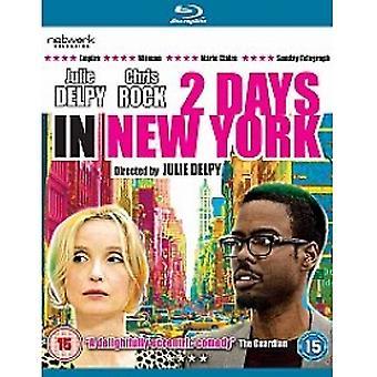 Dwa dni w Nowym Jorku Blu-ray