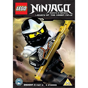 LEGO Ninjago - Masters Of Spinjitzu: Staffel 2 - Teil 2 DVD