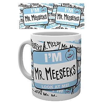 Rick e Morty Guardami Mug