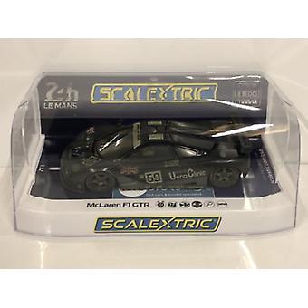 Scalextric C4103 風化マクラーレン F1 GTR 24HR ル・マン 1995 リミテッド