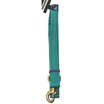 Dogcrafts 2m Lead Padded Emerald Green Brass