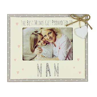 """6 """"x 4"""" - Love Life Photo Frame - Forfremmet til Nan"""