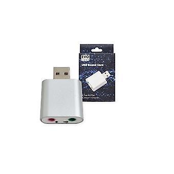 Evo Labs Plug and Play Virtual 7.1 Channel USB Sound Card