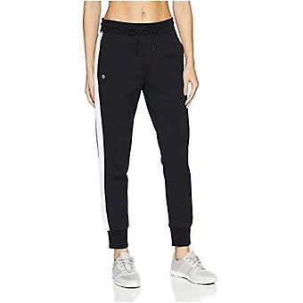 Marca - Core 10 Women's Motion Tech Fleece Relaxed Fit Jogger Sweatpant, Forest/Black, X-Large