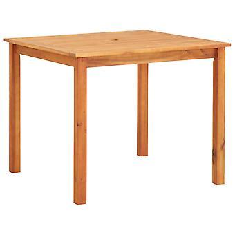 vidaXL garden table 88x88x74 cm Acacia solid wood