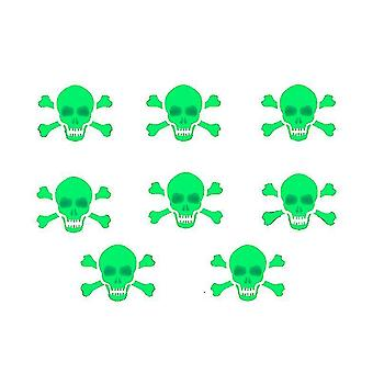Halloween Luminous Decals Glow In Dark Wall Stickers Set, Decorations For Halloween(Size5)